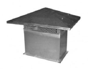 Czerpnia / Wyrzutnia Dachowa prostokątna TYP A